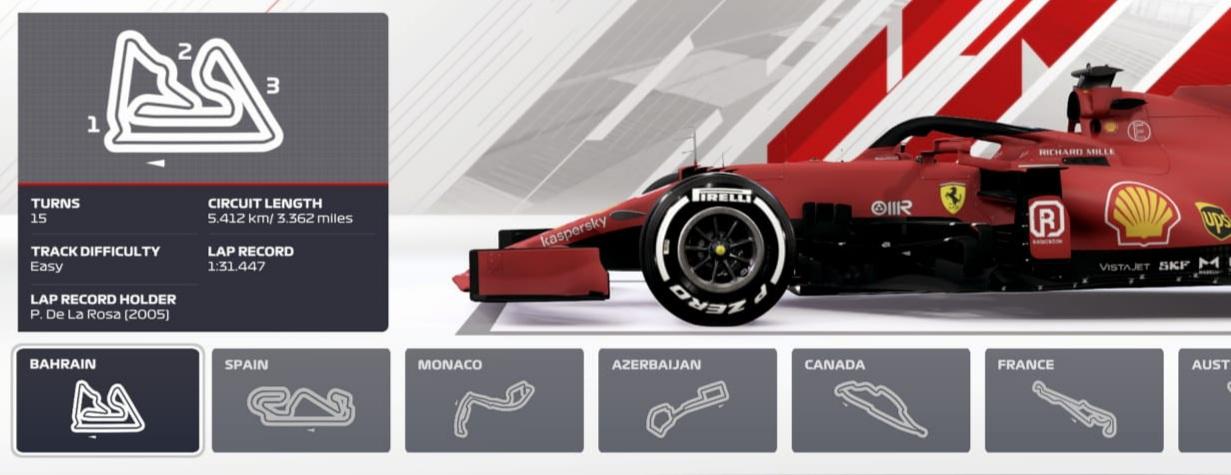 CSX F1 Championship 2021 - R1 - VC Bahrainu
