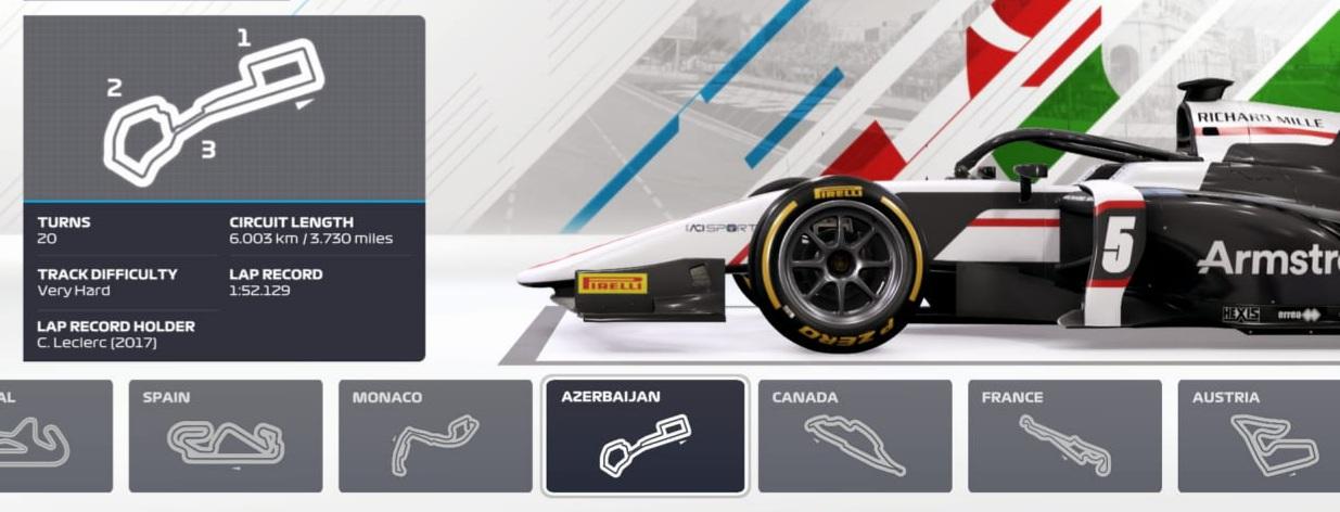 CSX F2 Championship 2021 - R3 - VC Azerbajdžánu