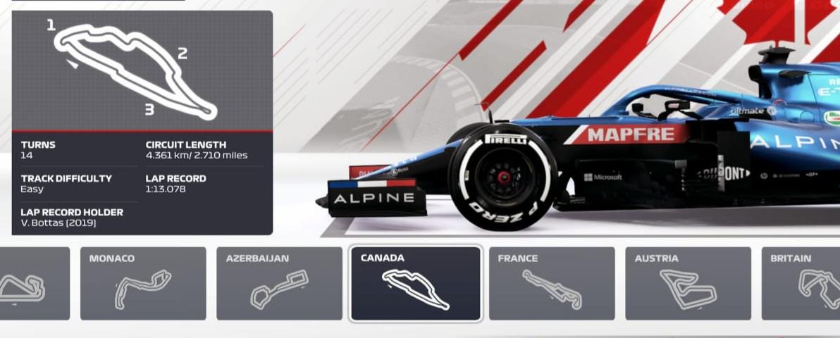 CSX F1 Championship 2021 - R5 - VC Kanady